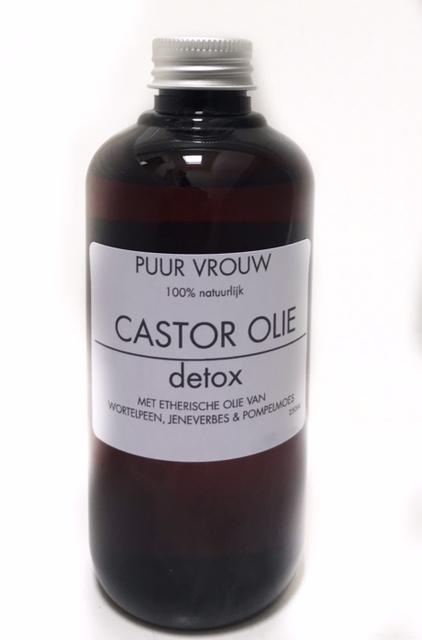 Detox castor olie